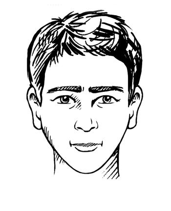 Driehoekig gezichtstype
