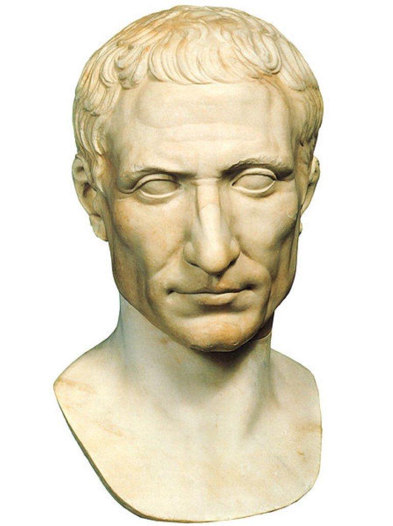Caesar cut herenkapsel