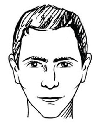 Bril diamantvormig gezicht