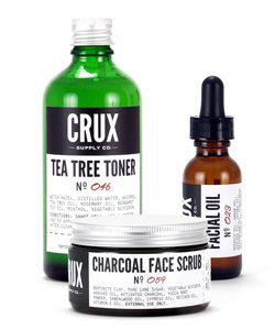 Crux Supply Co optimale gezichtsverzorgings set