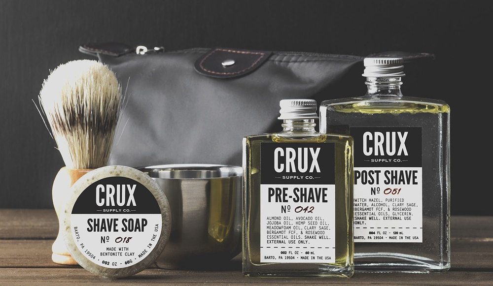 Crux Supply Co Deluxe scheerset