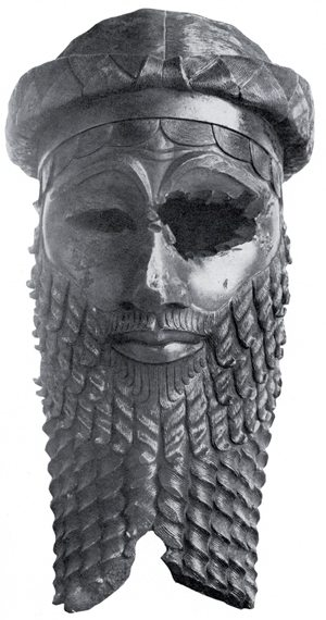 Masker uit het Akkadische rijk