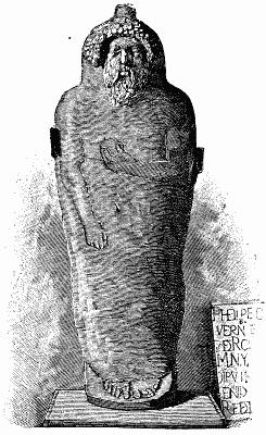 Geschiedenis van de baard: fenicie sarcofaag