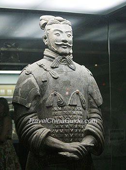 Geschiedenis van de baard: Terracotta soldaat uit China